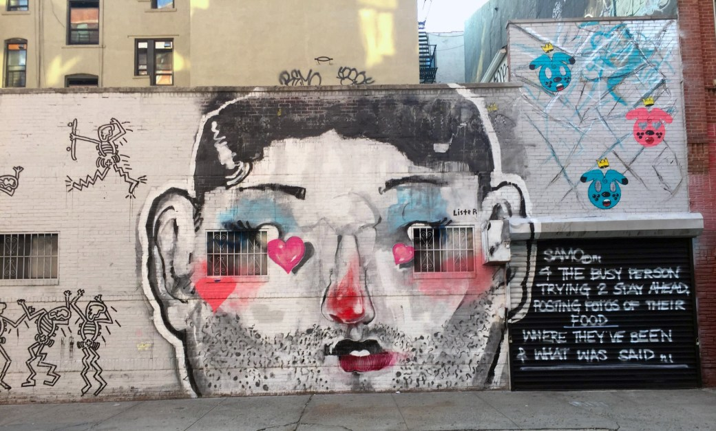 Anthony Lister's Expressive Murals