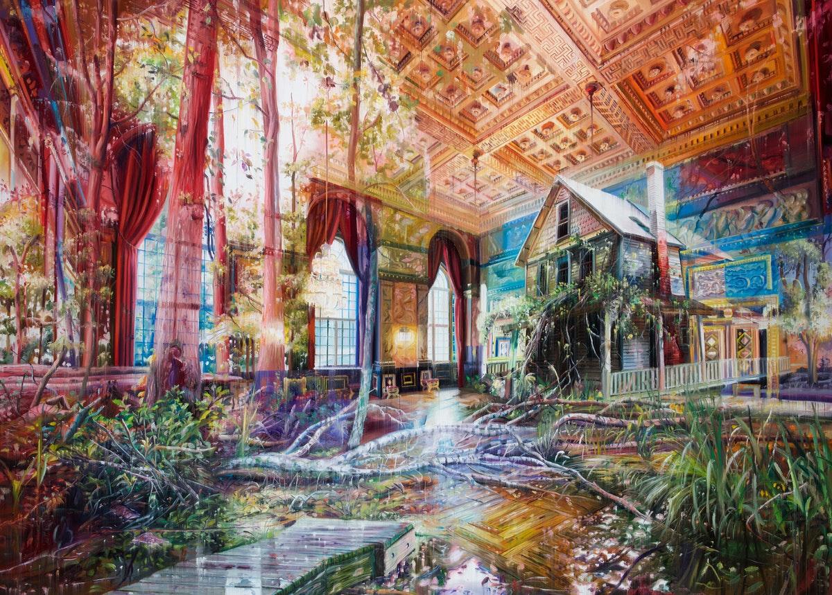 Multi-Layered Oil Paintings