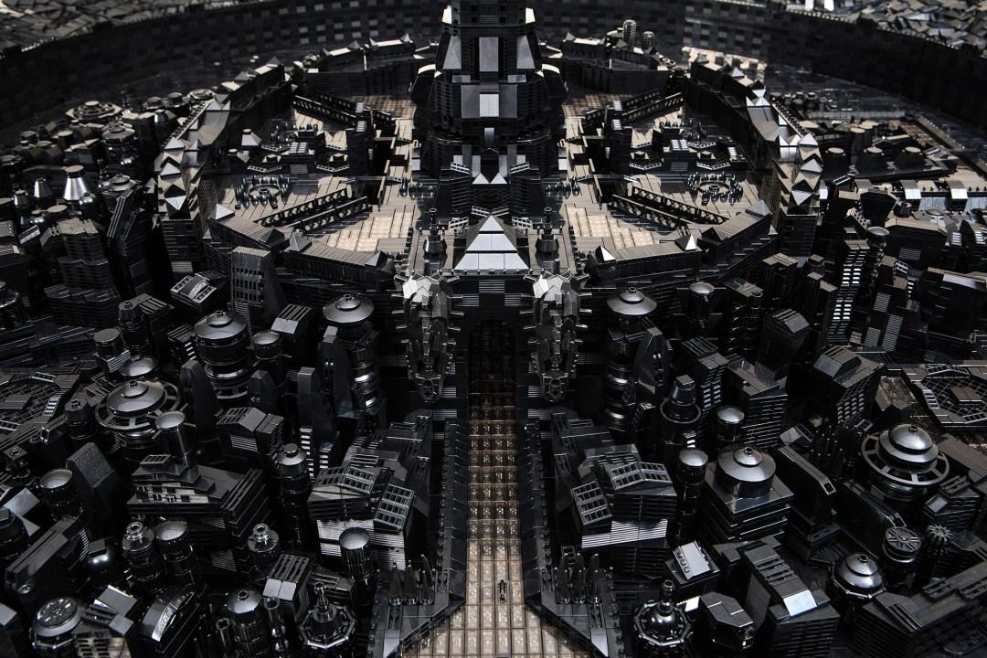 Elaborately Constructed LEGO Universes by Artist Ekow Nimako Envision an Afrofuturistic World