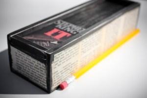 Stephen King IT pencil box