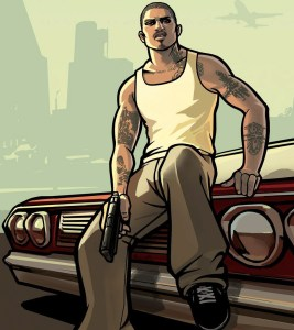 Grand Theft Auto thug