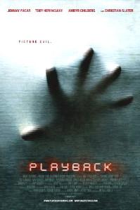Playback film poster