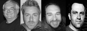 Ramsey Campbell, Gary McMahon, Simon Bestwick, Conrad Williams
