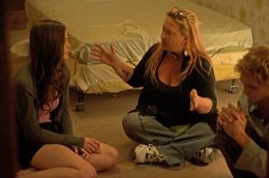 Jennifer Lynch on Chained set