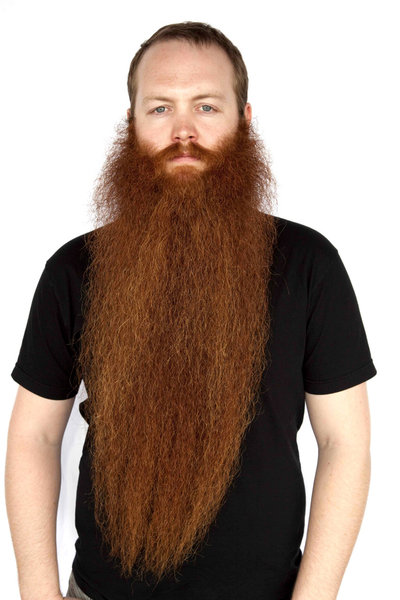 Award-winning beardsman Jack Passion