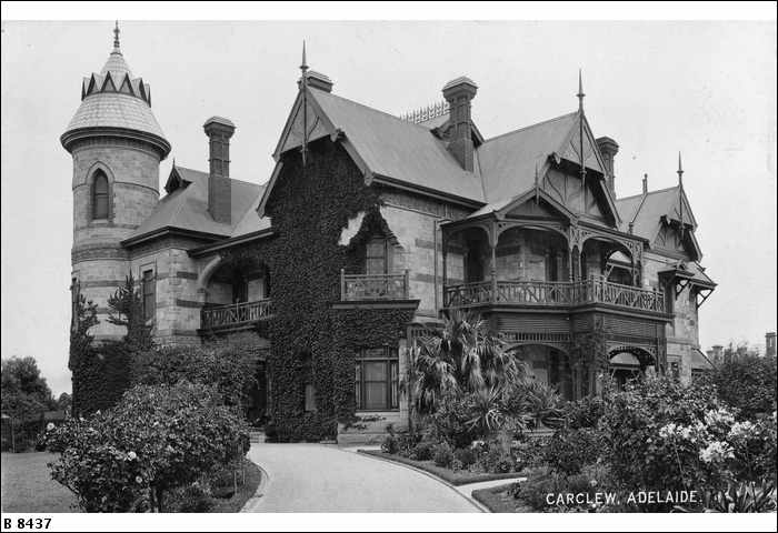 Carclew House Is A Gothic Styled Mansion That Sits Atop Montefiore Hill In North Adelaide