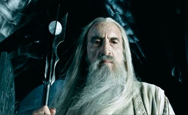 Christopher Lee The Lord Of The Rings