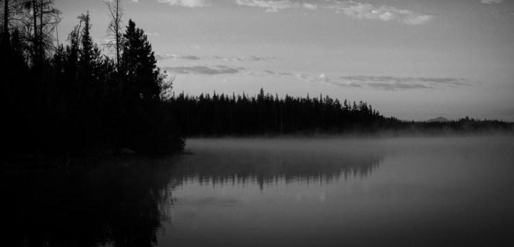 Foggy Sea at Dawn