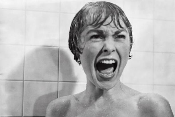 Psycho shower scene