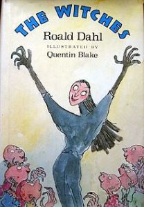 Roald Dahl The Witches - cover