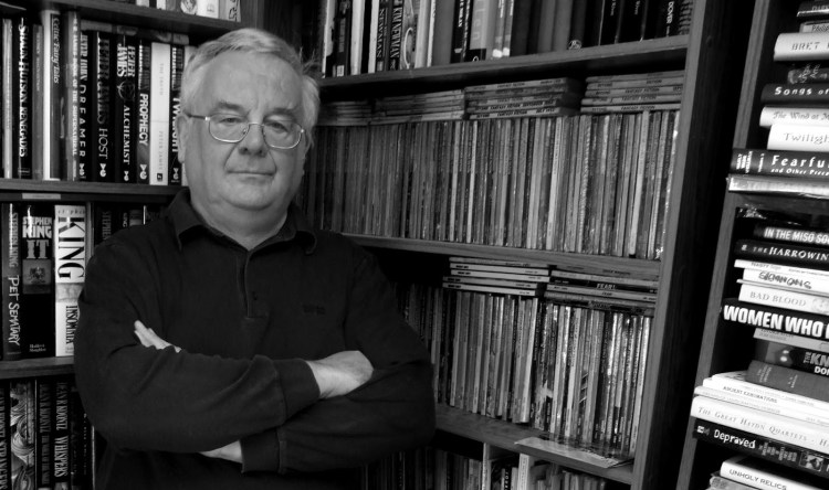 Ramsey Campbell - bookcase