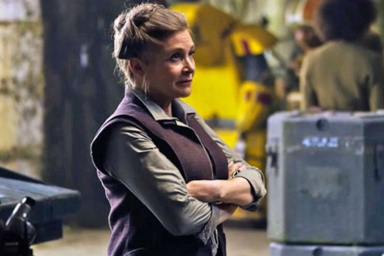 Carrie Fisher The Force Awakens