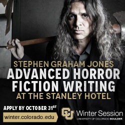 Stephen Graham Jones Advanced Horror Fiction Writing