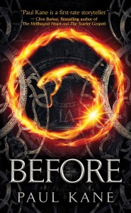 Before by Paul Kane - cover