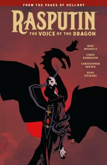Rasputin- The Voice of the Dragon by Mike Mignola - cover