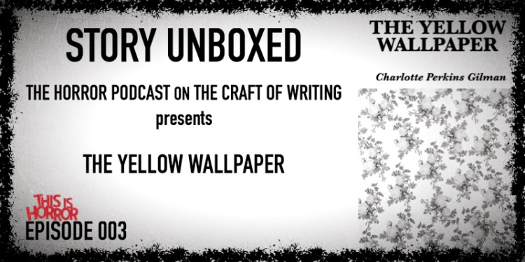 [Preview] SU 003 The Yellow Wallpaper by Charlotte Perkins Gilman (1892)