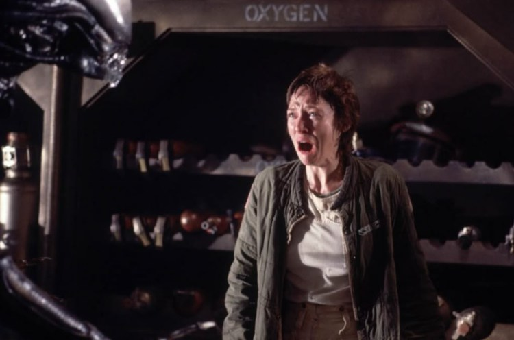 Alien reaction
