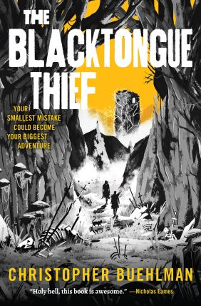 The Blacktongue Thief by Christopher Buehlman - cover