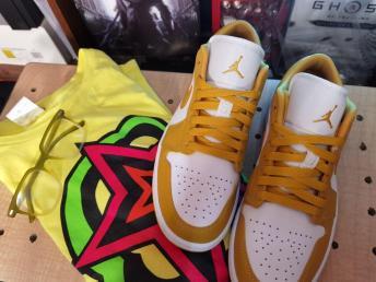 Air Jordan 1 Low Pollen (3)