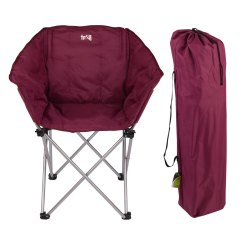 Folding Chairs In Bags 18 Doll Table And Chair Set Trail Tub Thick Padded Heavy Duty Camping