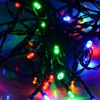 LED Solar Powered Fairy String Lights Garden Christmas ...