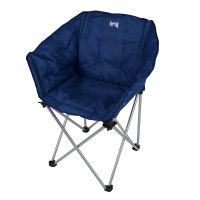 Folding Camping Chair Portable Padded Tub Seat Outdoor ...