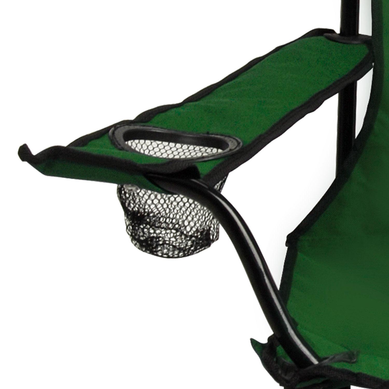 green fishing chair circle bamboo folding foldable camping beach fold up camp festival