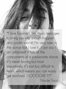 Kizomba brings you into a much happier and cooler world