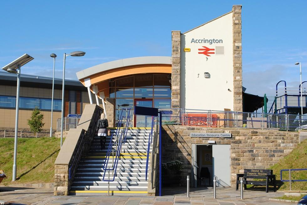 ATTACK: Accrington railway station