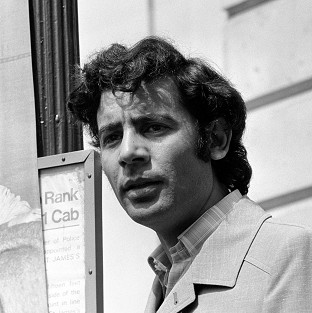 Musa Kusa pictured in 1980 prior to being expelled from Britain, outside the Libyan People's Bureau in London
