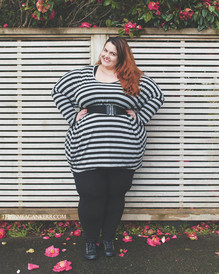 Image result for leggings and long t shirt bbw