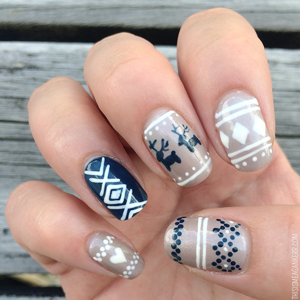Christmas Sweater Nails By Penny Lazic