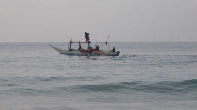 Pescatori al largo di Mirissa