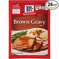 McCormick Brown Gravy Mix, 0.87 oz (Case of 24)