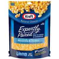 Kraft Shredded Pizza Style Mozzarella & Cheddar Cheese, 8 oz Bag