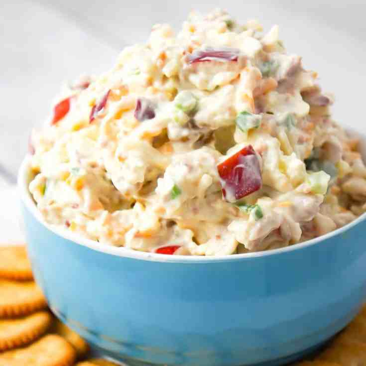 Bacon Apple Cheddar Dip