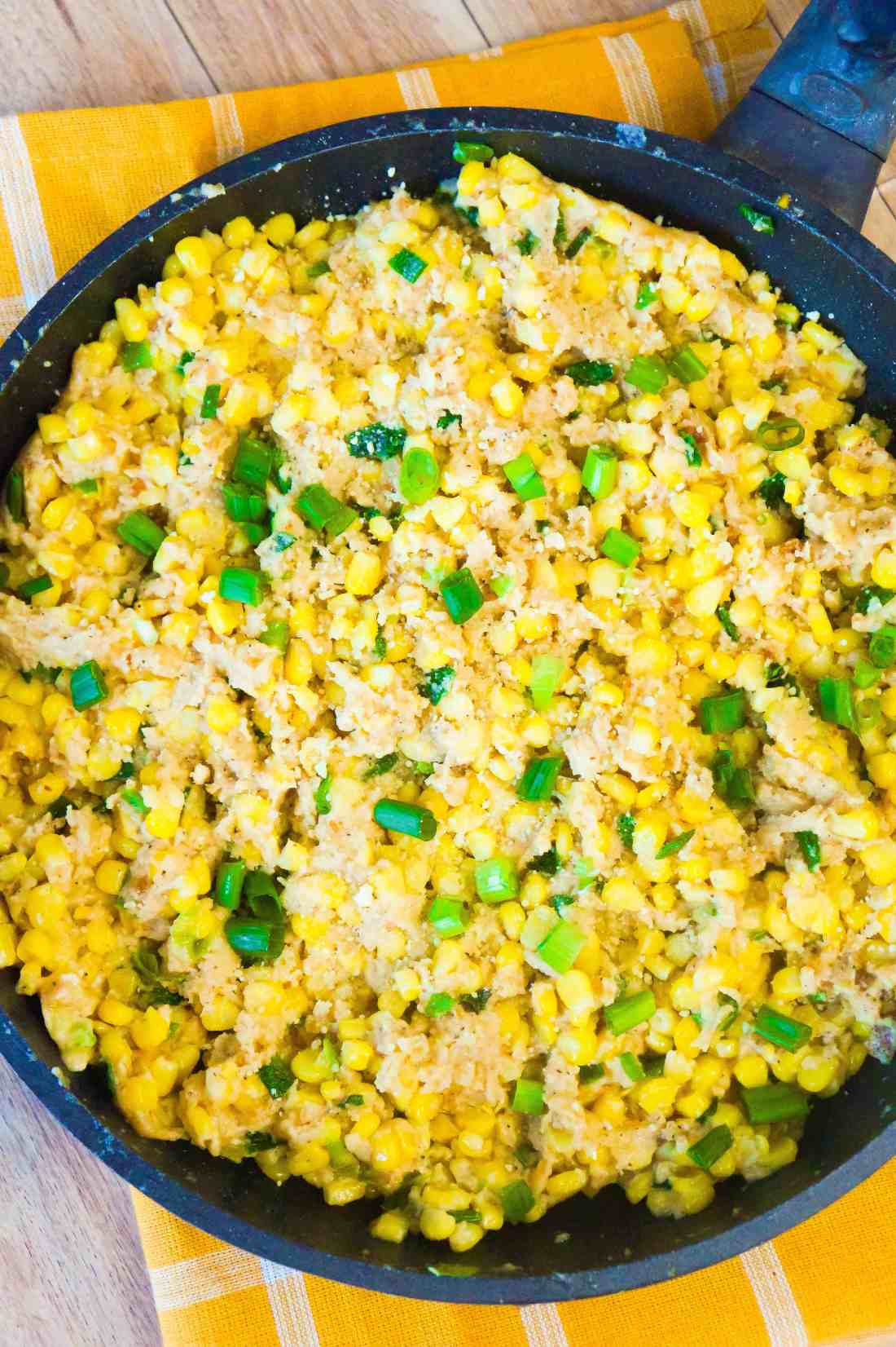 Cheesy Ritz Cracker Corn is an easy side dish perfect for your holiday dinner.