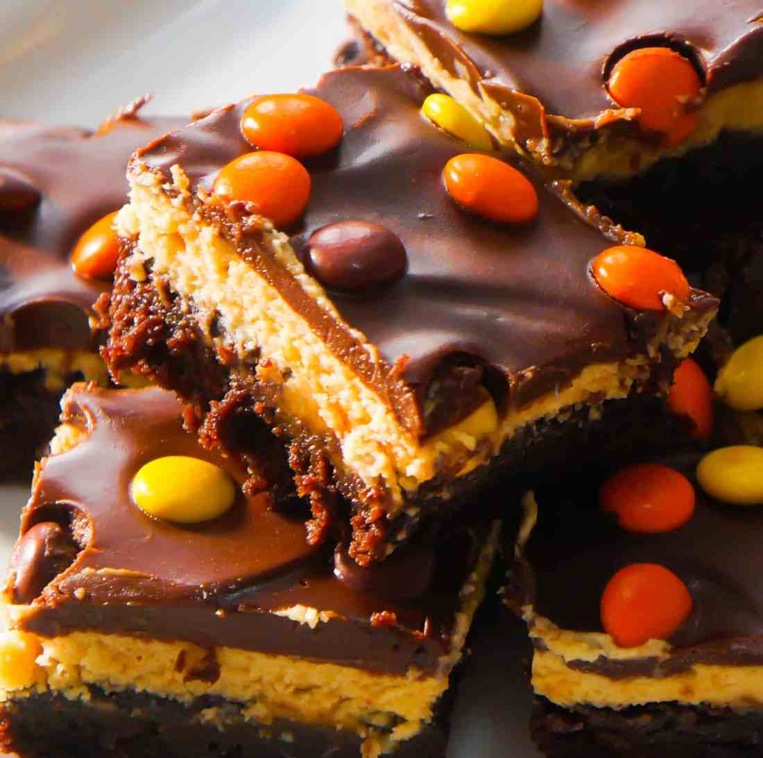 Reese's peanut butter cream cheese brownies
