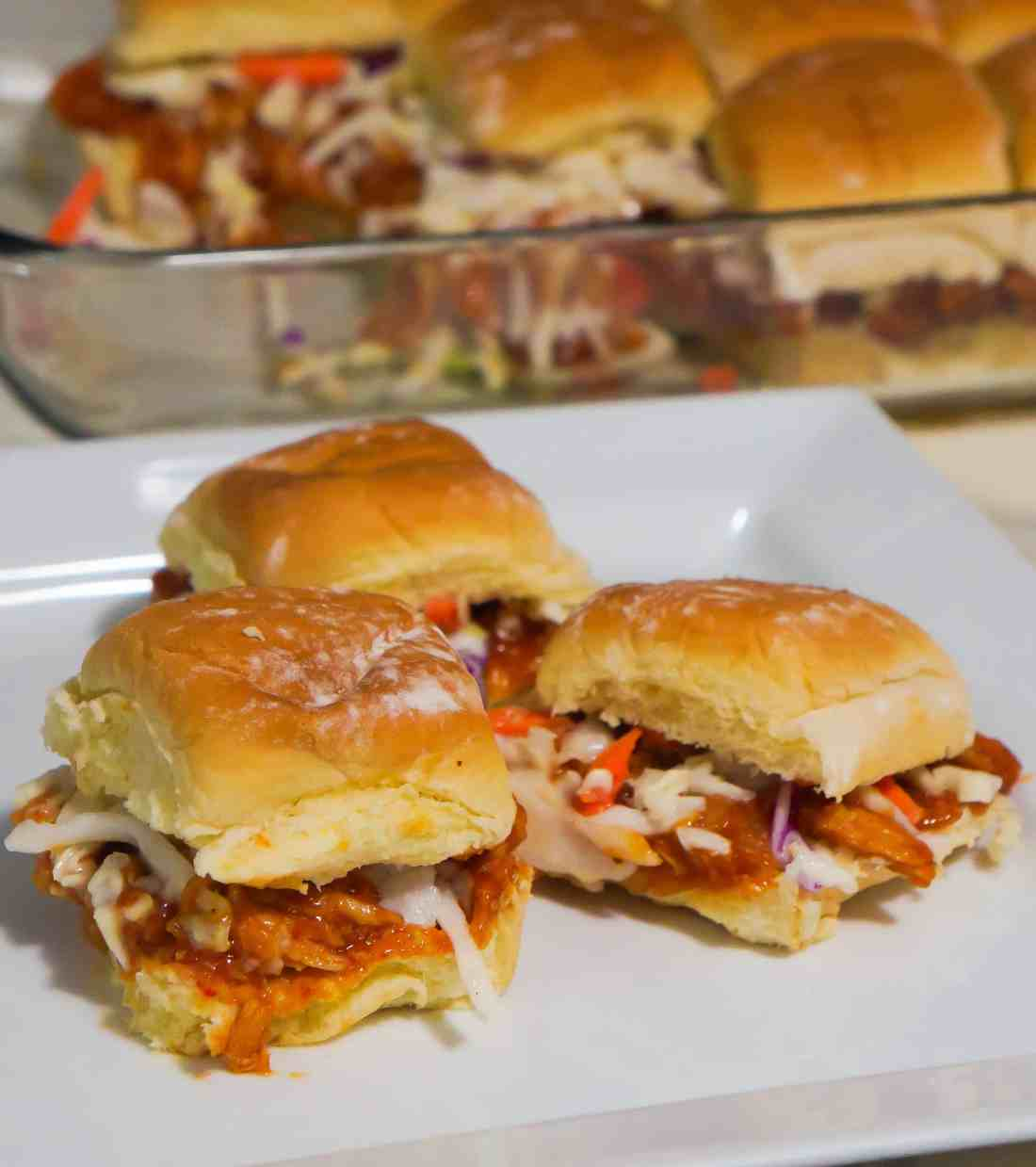 BBQ Chicken Slider Sandwiches