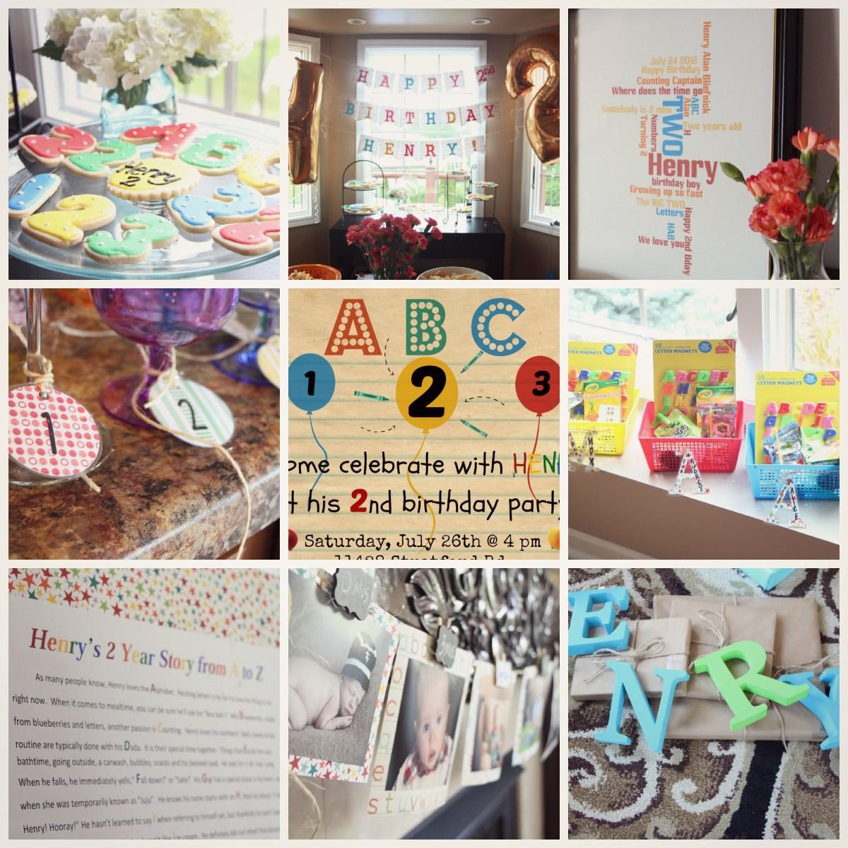 ABC... 123... Party Recap!