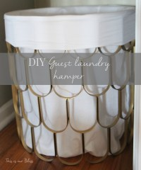 Great Find + Quick Fix #2 [DIY hamper] - This is our Bliss