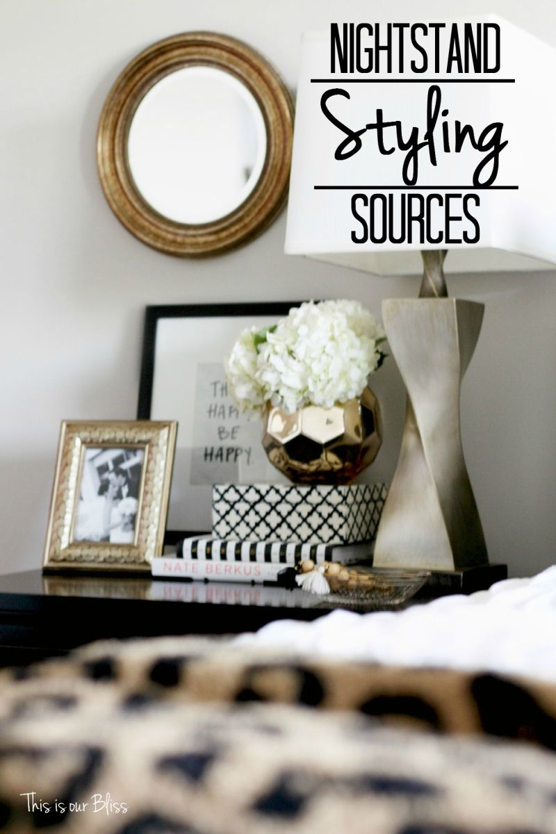 Love the look? Shop My Nightstand! [Sources + Free Printable]