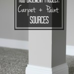 The Best Basement Paint and Carpet Choices | Basement Remodel Finishing Touches | This is our Bliss Basement Project | This is our Bliss || www.thisisourbliss.com