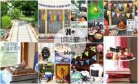 little boy birthday party theme ideas