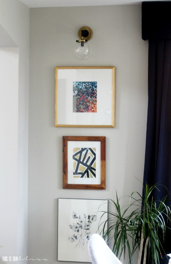 Think Again Thursday 7 DIY Framed Fabric Art This Is Our Bliss