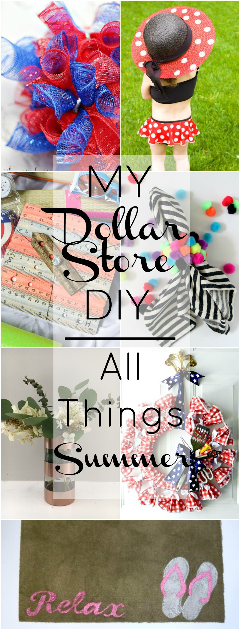 My Dollar Store DIY | All Things Summer!