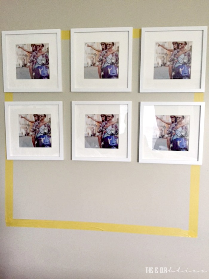 Simple Tips for How to Hang a Gallery Wall   This is our Bliss
