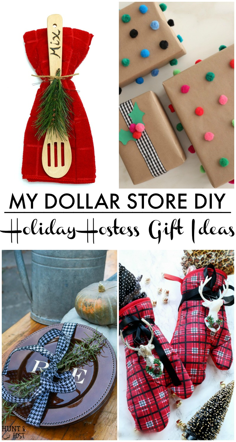5 Minute Holiday Hostess Gift My Dollar Store Diy This