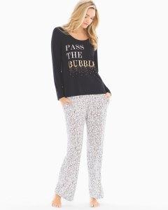 Pass The Bubbly Pajama Set