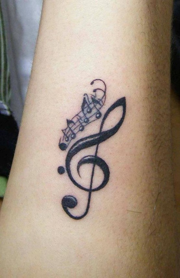 Image result for music tattoo idea